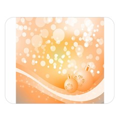 Wonderful Christmas Design With Sparkles And Christmas Balls Double Sided Flano Blanket (large)