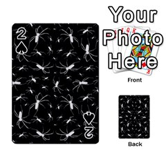 Spiders Seamless Pattern Illustration Playing Cards 54 Designs