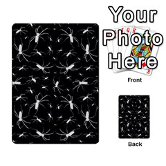 Spiders Seamless Pattern Illustration Multi Purpose Cards (rectangle)