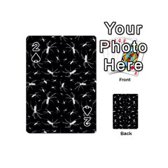 Spiders Seamless Pattern Illustration Playing Cards 54 (Mini)