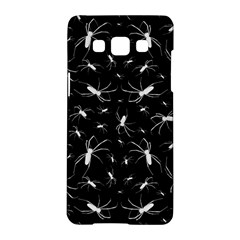 Spiders Seamless Pattern Illustration Samsung Galaxy A5 Hardshell Case