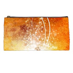 Wonderful Christmas Design With Snowflakes  Pencil Cases