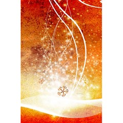 Wonderful Christmas Design With Snowflakes  5.5  x 8.5  Notebooks