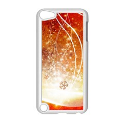 Wonderful Christmas Design With Snowflakes  Apple iPod Touch 5 Case (White)