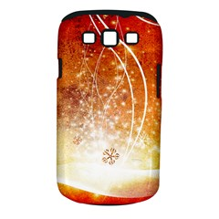 Wonderful Christmas Design With Snowflakes  Samsung Galaxy S III Classic Hardshell Case (PC+Silicone)