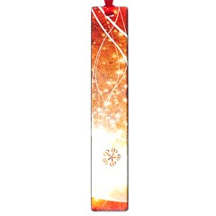 Wonderful Christmas Design With Snowflakes  Large Book Marks