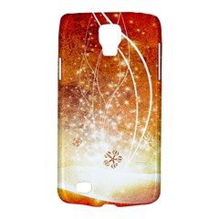 Wonderful Christmas Design With Snowflakes  Galaxy S4 Active