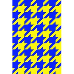 Houndstooth 2 Blue 5 5  X 8 5  Notebooks