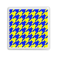 Houndstooth 2 Blue Memory Card Reader (Square)