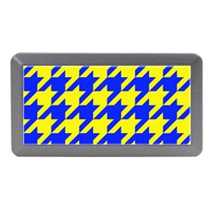 Houndstooth 2 Blue Memory Card Reader (Mini)