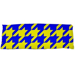 Houndstooth 2 Blue Body Pillow Cases Dakimakura (Two Sides)