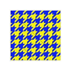 Houndstooth 2 Blue Acrylic Tangram Puzzle (4  x 4 )
