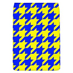 Houndstooth 2 Blue Flap Covers (L)