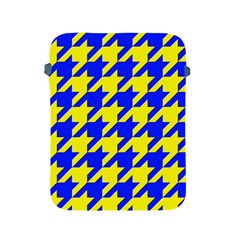 Houndstooth 2 Blue Apple iPad 2/3/4 Protective Soft Cases