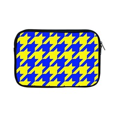 Houndstooth 2 Blue Apple iPad Mini Zipper Cases