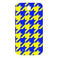 Houndstooth 2 Blue Samsung Galaxy Mega I9200 Hardshell Back Case