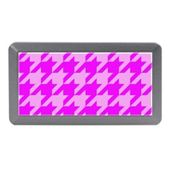 Houndstooth 2 Pink Memory Card Reader (Mini)