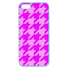 Houndstooth 2 Pink Apple Seamless iPhone 5 Case (Color)
