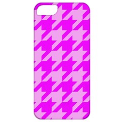 Houndstooth 2 Pink Apple iPhone 5 Classic Hardshell Case