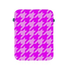 Houndstooth 2 Pink Apple iPad 2/3/4 Protective Soft Cases