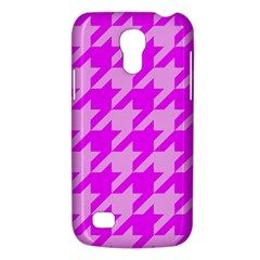 Houndstooth 2 Pink Galaxy S4 Mini
