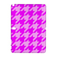 Houndstooth 2 Pink Samsung Galaxy Note 10 1 (p600) Hardshell Case