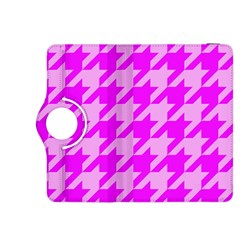 Houndstooth 2 Pink Kindle Fire HDX 8.9  Flip 360 Case
