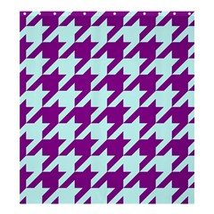 Houndstooth 2 Purple Shower Curtain 66  X 72  (large)