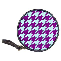 Houndstooth 2 Purple Classic 20-CD Wallets