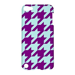 Houndstooth 2 Purple Apple iPod Touch 5 Hardshell Case