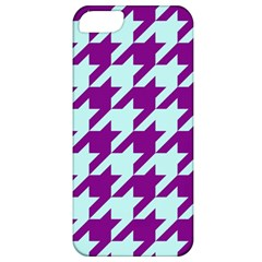 Houndstooth 2 Purple Apple iPhone 5 Classic Hardshell Case