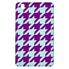 Houndstooth 2 Purple Samsung Galaxy Tab Pro 8 4 Hardshell Case