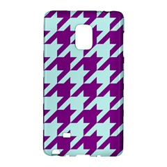 Houndstooth 2 Purple Galaxy Note Edge
