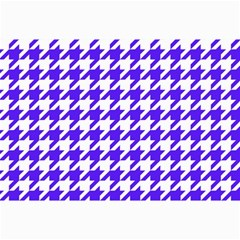 Houndstooth Blue Collage 12  x 18