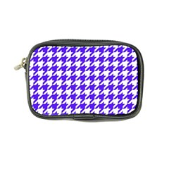 Houndstooth Blue Coin Purse