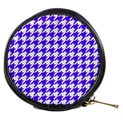 Houndstooth Blue Mini Makeup Bags