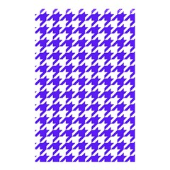 Houndstooth Blue Shower Curtain 48  X 72  (small)