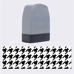 Houndstooth Blue Name Stamps