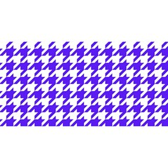 Houndstooth Blue YOU ARE INVITED 3D Greeting Card (8x4)