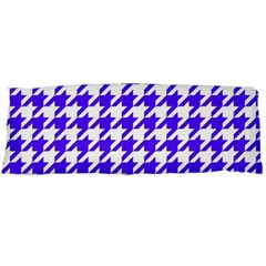 Houndstooth Blue Body Pillow Cases (Dakimakura)