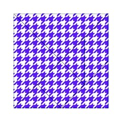 Houndstooth Blue Acrylic Tangram Puzzle (6  X 6 )