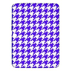 Houndstooth Blue Samsung Galaxy Tab 3 (10.1 ) P5200 Hardshell Case