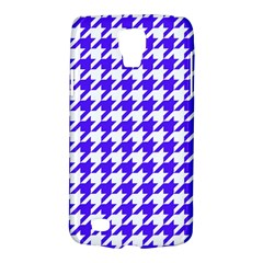 Houndstooth Blue Galaxy S4 Active