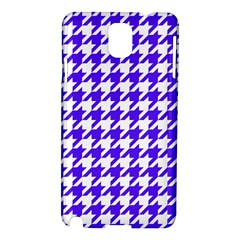 Houndstooth Blue Samsung Galaxy Note 3 N9005 Hardshell Case