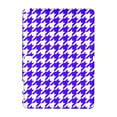 Houndstooth Blue Samsung Galaxy Note 10 1 (p600) Hardshell Case