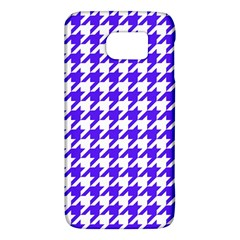 Houndstooth Blue Galaxy S6
