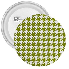 Houndstooth Green 3  Buttons