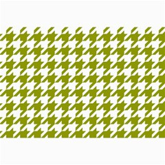 Houndstooth Green Collage 12  x 18