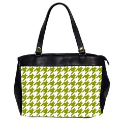 Houndstooth Green Office Handbags (2 Sides)