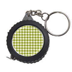Houndstooth Green Measuring Tapes